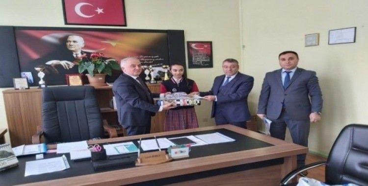 Kars'ta 'Kooperatifçilik' konulu resim yarışması