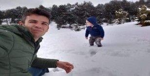 Kar görmek için yaylaya çıktılar