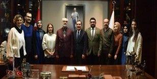 Yeşilay'dan Başkan Ataç'a ziyaret