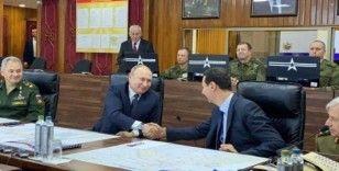Putin, Şam'da Esad'la görüştü