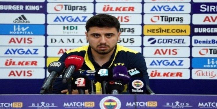 Ozan Tufan: 'Önemli olan Fenerbahçe'de oynamak'