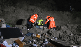Heyelan altında kalan vatandaş hayatını kaybetti