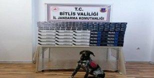 Bitlis'te 5 bin 150 paket kaçak sigara ele geçirildi