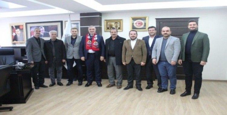Başkan Turanlı Kahta02 Spora üye oldu