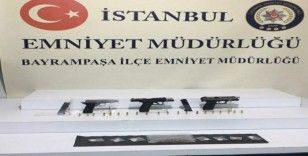 Bayrampaşa'da silahla bir kişiyi vuran şahıs yakalandı