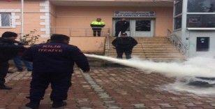 Kamu görevlilerine yangın eğitime
