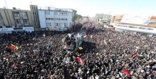 Süleymani'nin cenaze töreninde yaşanan izdihamda ölü sayısı 56'ya yükseldi