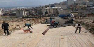 Eyyübiye ve Kırsalında yol yapım çalışmaları devam ediyor