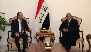 Bakan Çavuşoğlu, Irak Başbakanı Abdülmehdi ile görüştü