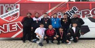 Nevşehir Belediyesi sporcularından 8 madalya
