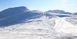 'Batı Karadeniz'in en uzun kayak pisti' açılışa hazır