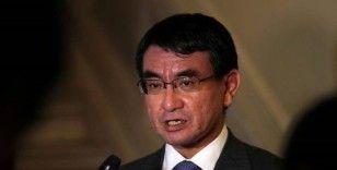 Japonya Savunma Bakanı Kono, İranlı mevkidaşıyla telefonda görüştü