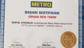 Metro Marketleri, Orhan Reis Gıda'nın başarısın tescilledi