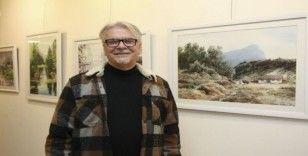 Ressam Kırdı, 69'uncu kişisel sergisini MTSO'da açtı