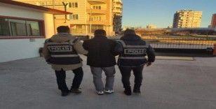 İkamet hırsızı tutuklandı