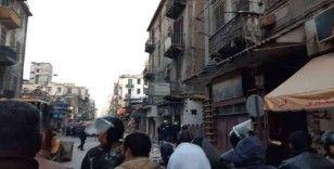 Mısır'da kafenin olduğu 3 katlı bina çöktü: 5 ölü