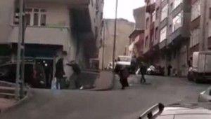 Gaziosmanpaşa'da sokak ortasında dehşet