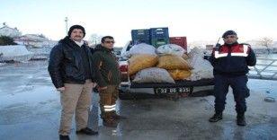 Eğirdir'de kaçak avlanan 700 kilogram kerevit göle bırakıldı