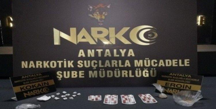 Antalya'da uyuşturucu operasyonu: 10 tutuklama