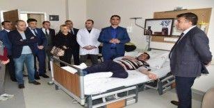 """Müdür Sünnetçioğlu: """"Hasta memnuniyetine önem veriyoruz"""""""