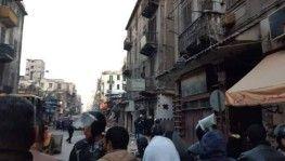 Mısır'da kafenin olduğu 3 katlı bina çöktü, 5 ölü
