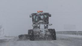 Elazığ'da kar yağışı: 68 köy yolu ulaşıma kapandı