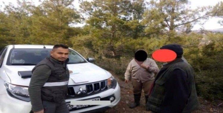 Karacasu'da kaçak avcılığa 4 bin lira ceza