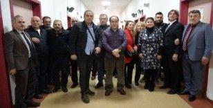 Gazeteciler sağlık taramasından geçti