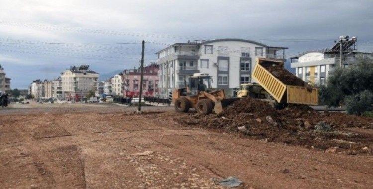 Santral mahallesine 22 metrelik yeni yol