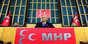 MHP Lideri Bahçeli, 6 ay sonra grup toplantışında konuşuyor