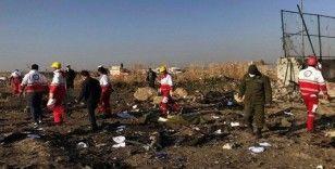 İran'ın Ukrayna yolcu uçağını 2 roketle vurduğu iddiası