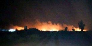 Bağdat'ta ABD askerlerinin bulunduğu askeri üsse roketli saldırı