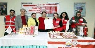 Trakya Üniversitesinden final haftası boyunca öğrencilere çorba ikramı