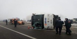 Isparta'daki otobüs kazasında yaralı sayısı 32'ye yükseldi