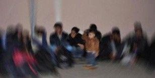 Amasya'da 18 düzensiz göçmen yakalandı