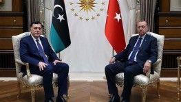 Libya Ulusal Mutabakat Hükümeti Başbakanı Sarrac Libya'ya geri döndü