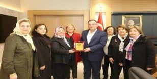 Türk Kadın Konseyinden Başkan Bulut'a ziyaret