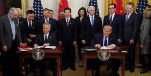 ABD ile Çin ticaret savaşında 'ateşkes' imzaladı