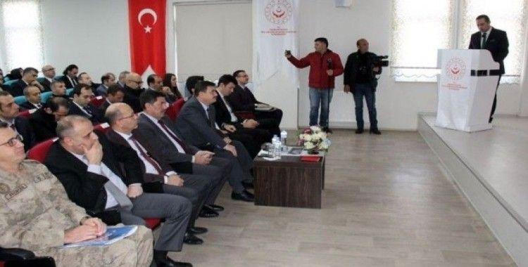 Erzincan'da Bağımlılık ile Mücadele Değerlendirme toplantısı yapıldı