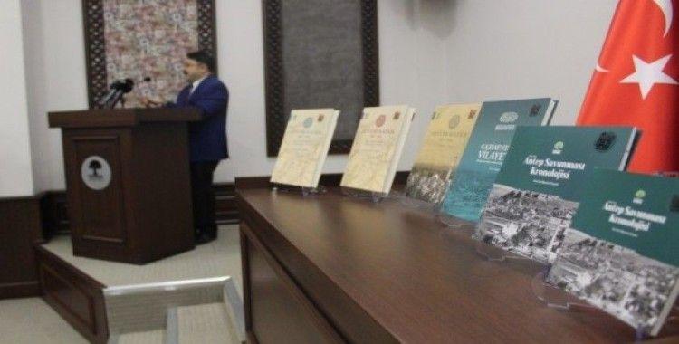 """Gaziantep'in tarihini yansıtan """"Ayntab Kitapları"""" tanıtıldı"""