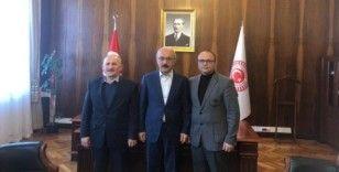 Sarıtaş, Ermenek'in yatırım ve projeleri için Ankara'da temaslarda bulundu