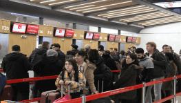 İstanbul Havalimanı'nda yarıyıl tatili yoğunluğu