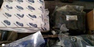 Gaziantep'te taklit oto yedek parça satışı yapanlara operasyon