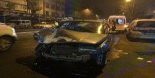 Başkent'te kar yağışı ve gizli buzlanma kazayı getirdi: 4 yaralı
