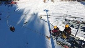 Yıldıztepe'de kış kurtarma tatbikatı yapıldı