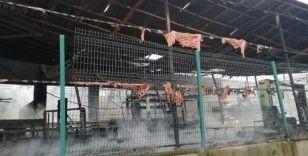 Samsun'da fabrika yangını kontrol altına alındı