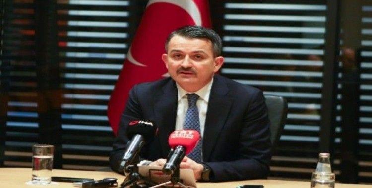 Bakan Pakdemirli: 'Türkiye sağlıklı gıda üreten bir ülkedir'