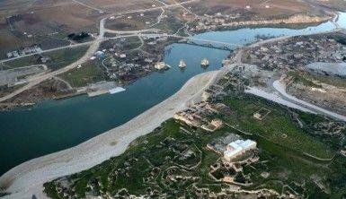 Hasankeyf'te sular yükselmeye başladı