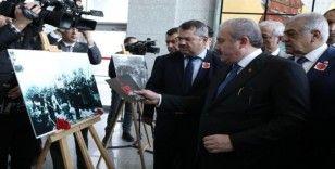 TBMM Başkanı Şentop, 20 Ocak katliamı sergisini açtı