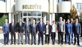 Başkan Kayda, MHP Grup Başkanvekili Akçay'ı ağırladı